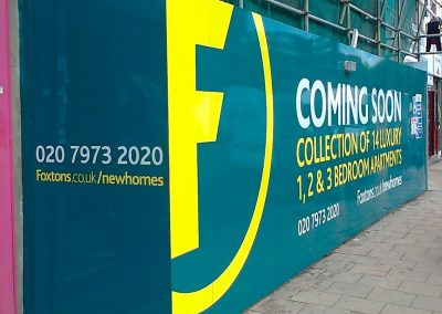 Hoarding Design Construction